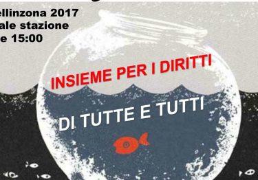 INSIEME PER I DIRITTI DI TUTTE E DI TUTTI – Bellinzona, 14.10.2017