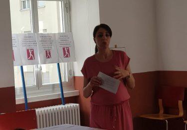 14 giugno 2018 Azioni di lotta: parla Chiara Landi