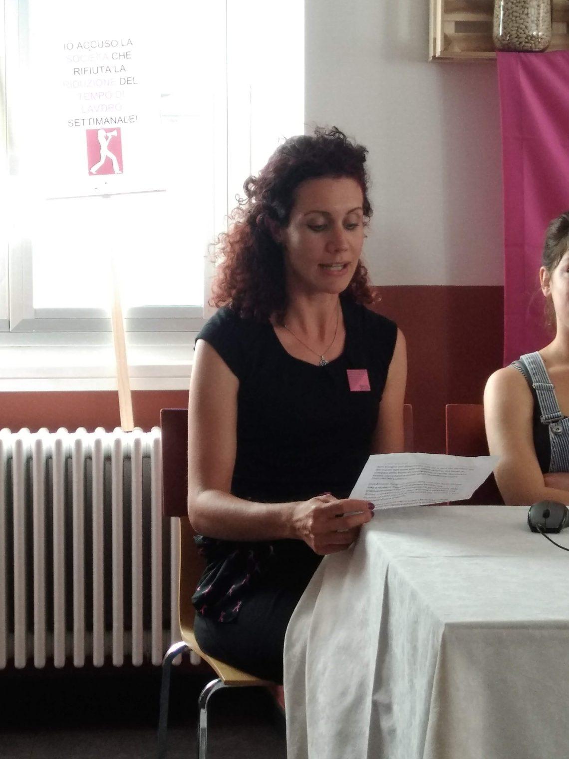 14 giugno 2018: azioni di lotta, parla Lorena Gianolli