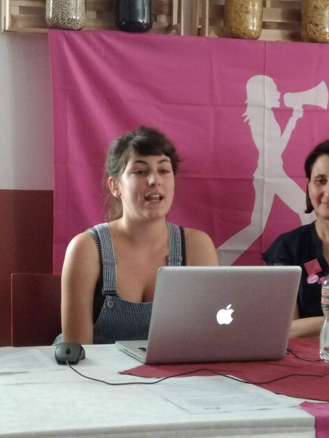 14 giugno 2018: azioni di lotta, parla Lisa Boscolo
