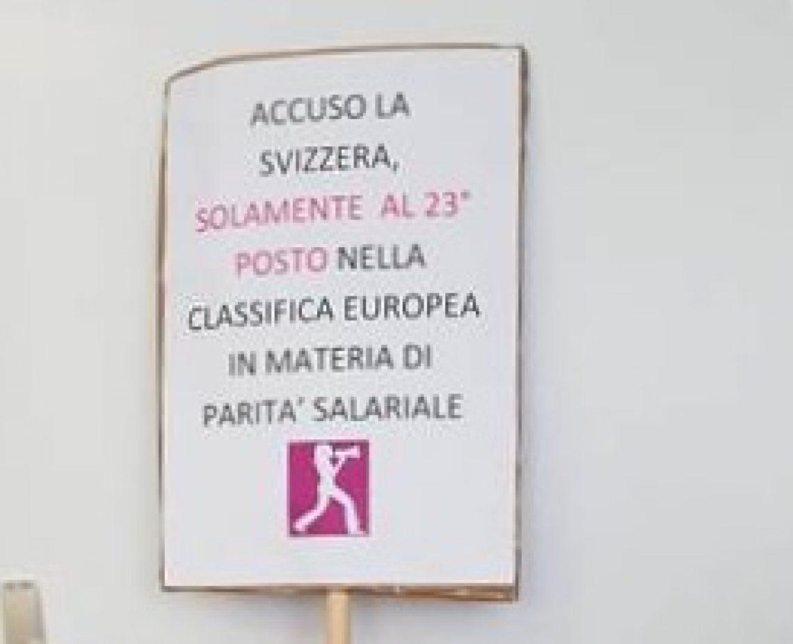 Azione di protesta: Io accuso…
