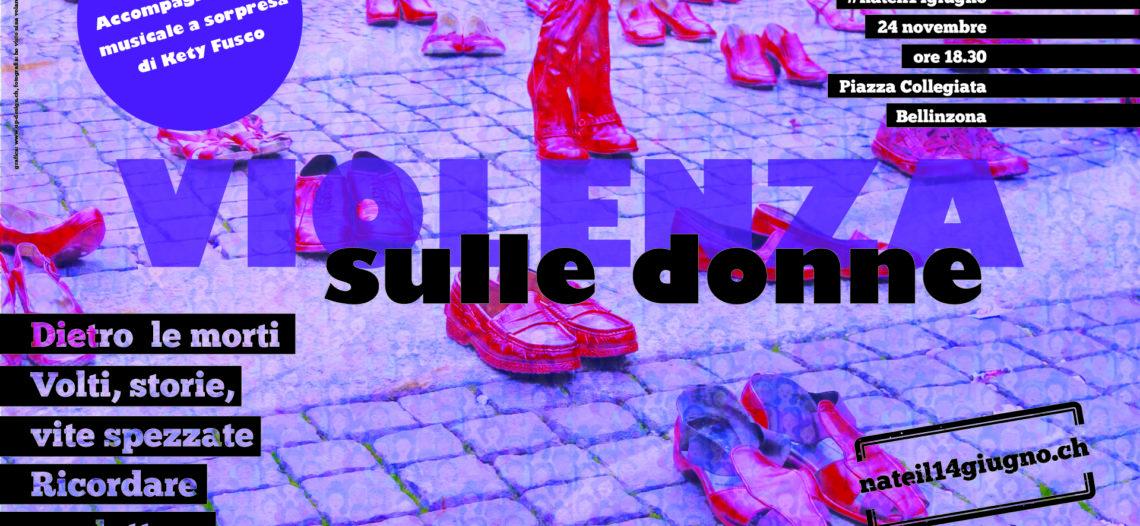 Vite spezzate: ricordare per lottare La scarpe rosse e l'impronta pubblica