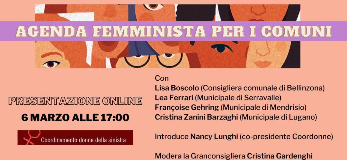 Agenda femminista per i Comuni